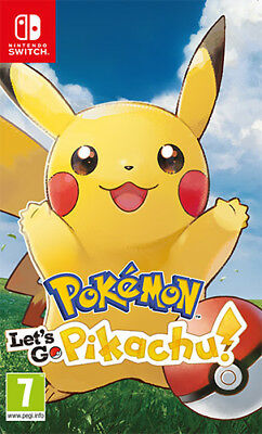 Pokemon Let's Go, Pikachu! Nintendo SWITCH NINTENDO