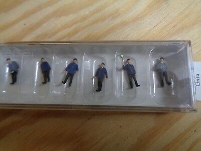 Tt = 1:120 Preiser 75049 Train Staff Db. Early Era Iii. Figures. Orig. Packaging