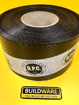 Damp Proof Course Membrane DPC 30m Roll 100mm 150mm 225mm 450mm 600mm