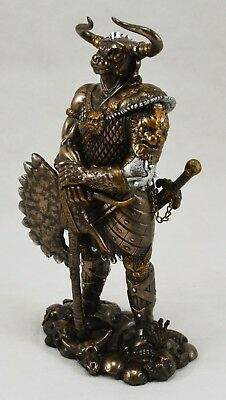 Superb Large Bronze Standing Minotaur Statue/Ornament. Greek Mythology, Bull