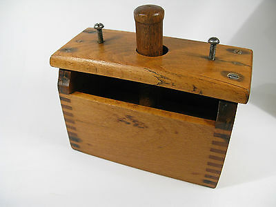 Antique Late 1800s Birch Adjustable Wooden Butter Mold—1 Pound Blocks of Butter