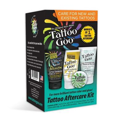 Tattoo Goo Tattoo Aftercare Kit  (Care For New And Existing Tattoos) EXP 11/19