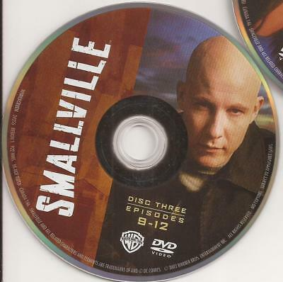 Smallville (DVD) First Season 1 Disc 3 Replacement Disc U.S. Issue!