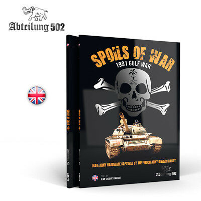 SPOILS OF WAR  1991 Gulf War (English) model making Book from AK Interactive