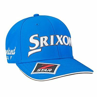 28dee7a5b08 New Srixon Golf SRX Tour Staff Golf Hat COLOR  Electric Blue SIZE   Adjustable