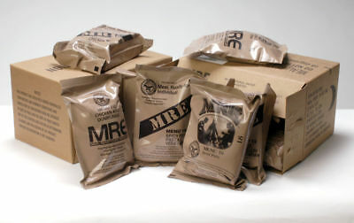 US ARMY MRE's Rations 1-24 menus Emergency Survival Camping Food MILITARY