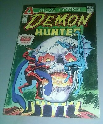 Atlas Comics Demon-Hunter Vol. 1 Number 1 Sept. 1975