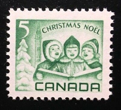 Canada #477 Untagged MNH, Christmas - Children Carolling Stamp 1967