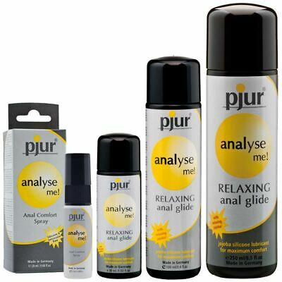 Pjur Analyse Me Relaxing Comfort Lube Sex Toy Lubricant German Made All Sizes