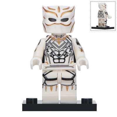 Pleasant Black Panther White Suit Marvel Universe Lego Moc Bralicious Painted Fabric Chair Ideas Braliciousco