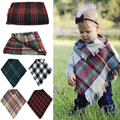 Infant Baby Girl Boy Winter Clothes Toddler Jackets Kids Cape Xmas Coat Shawl