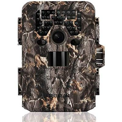 TEC.BEAN Trail Camera 12MP 1080P Full HD Game & Hunting 36pcs 940nm IR LEDs Up