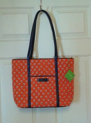d3b501d7dc NWT Vera Bradley Small Trimmed Vera Rio Rosie Tote Shoulder Bag Free  Shipping