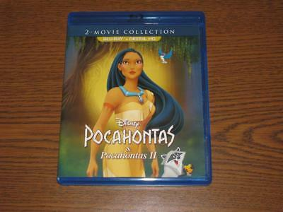 Pocahontas 2-Movie Collection (Blu-ray Disc, 2017)
