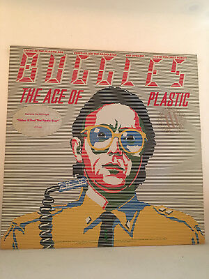 Buggles - The Age of Plastic LP (UK Import) (ILPS 9585)