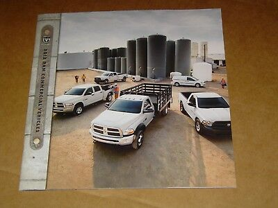 2012 Dodge Ram Truck Commercial Vehicles Sales Brochure Mint! 28 Pages