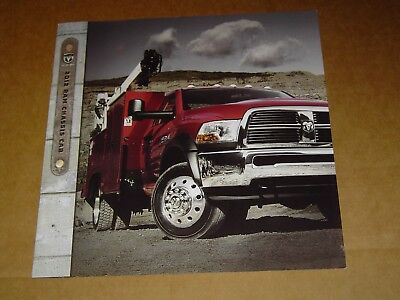 2012 Dodge Ram Truck Chassis Cab Sales Brochure Mint! 8 Pages