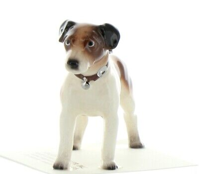 Tri-Color Jack Russell Terrier Miniature Figurine Made in USA by Hagen-Renaker