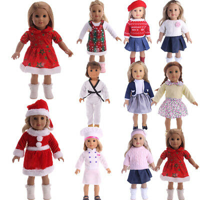 New Xmas Outfit Dress Clothes for 18'' Birthday Gifts Dolls My Life Doll