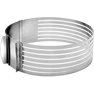 IBILI Layer Cake Slicing Kit, Silver, 24-30 cm