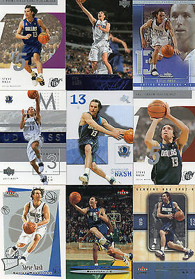 Lot De 9 Cartes / cards NBA - Steve Nash - Dallas Mavericks