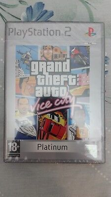 GTA Grand Theft Auto Vice City PS2 [Completo] [PAL-ESP] [Platinum] [Impoluto]
