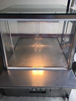 Commercial Food Warmer Hot Display Showcase Cabinet