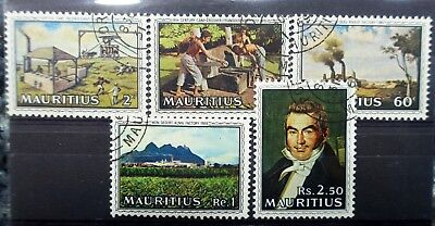 Mauritius, CARD OF STAMPS  - lot b822