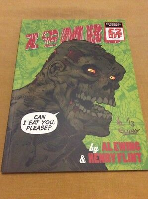 Zombo. Can I Eat You, Please? Hand Signed By Al Ewing + Hand drawn Sketch inside