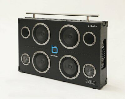 1000w Bumpboxx Uprock V1S The Worlds Loudest Bluetooth Boombox Portable Speaker