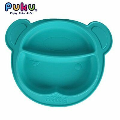 Silicone Mat Table Baby Kids One-piece Food Dish Tray Placemat Plate Bowl No BPA