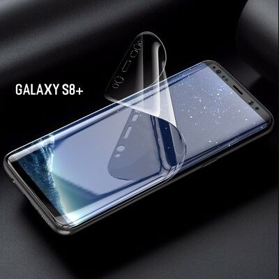 For Samsung Galaxy S8 Plus - 100% Genuine TPU Screen Protector Cover