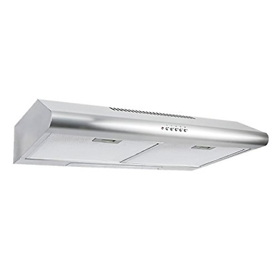 Cosmo Under Cabinet Range Hood in Stainless Steel with 200 CFM 30 inch