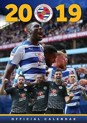 Reading FC - Official 2019 Wall Calendar - BUY ONE GET ONE FREE!