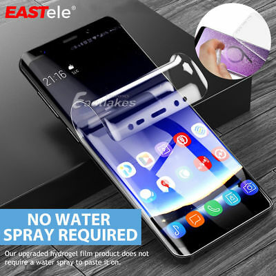For Samsung S9 Plus premium screen protector Full Cover Screen 3D film TPU