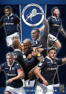 Millwall FC - Official 2019 Wall Calendar - BUY ONE GET ONE FREE!