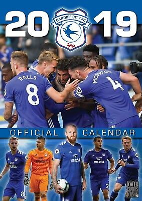 Cardiff City FC - Official 2019 Wall Calendar