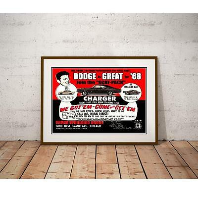 Grand Spaulding Dealership Promotional Poster - Performance Muscle Cars