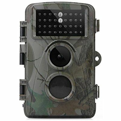 TEC.BEAN Trail Camera 12MP 1080P 2.3 Inch LCD Screen Full HD Hunting Game LEDs