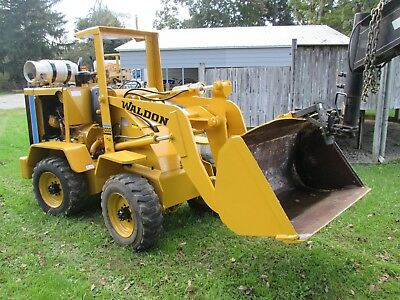 Waldon 5100 articulated wheel loader