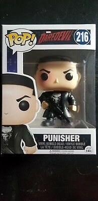 Punisher #216 Funko Pop! Marvel Netflix Dare Devil Show Vinyl Bobble-head