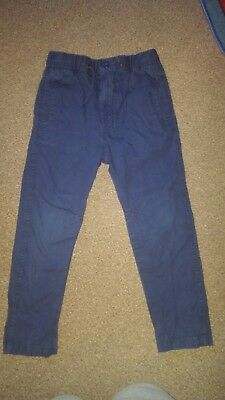 Boys 5-6 years Next Blue Trousers