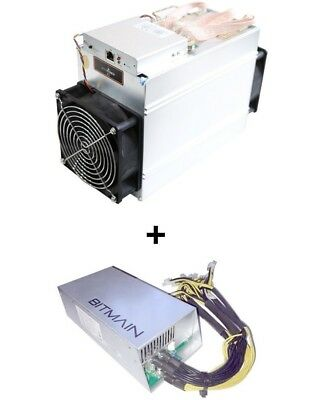 Antminer A3 815 GH/s Blake 2b Classic Siacoin Miner In Hand + Power Supply