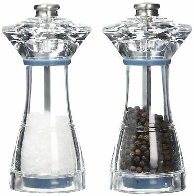 Jamie Oliver Cookware Range Salt and Pepper Mill Gift Set, Acrylic/Clear, 13....