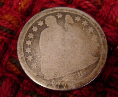 Vintage U.s. Coin -1856-O Liberty Seated Dime -10 Cents - Rare/hard To Find!