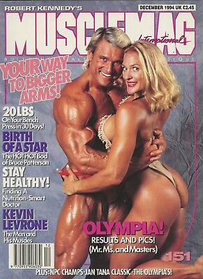 Musclemag Bodybuilding Magazine December 1994 Tom Platz
