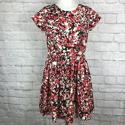 04615eb81aa RED Saks Fifth Avenue Women s XS Dress Fit   Flare Short Sleeve