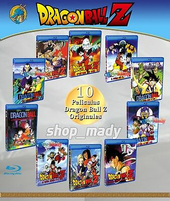 Paquete Especial 10 Movies de Dragon Ball Z Blu-ray en ESPAÑOL LATINO