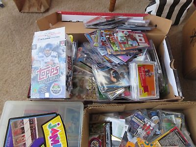 Massive Estate Sports Cards Collection Inventory Rookies Serial Numb Auto