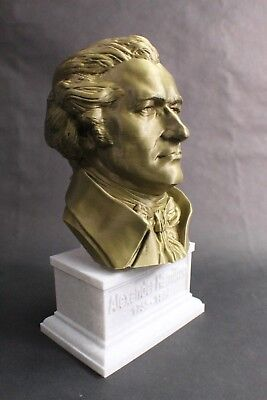 Alexander Hamilton 12 inch 3D Printed Bust Founding Father USA Art FREE SHIPPING